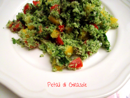 Broccoli crudi in insalata