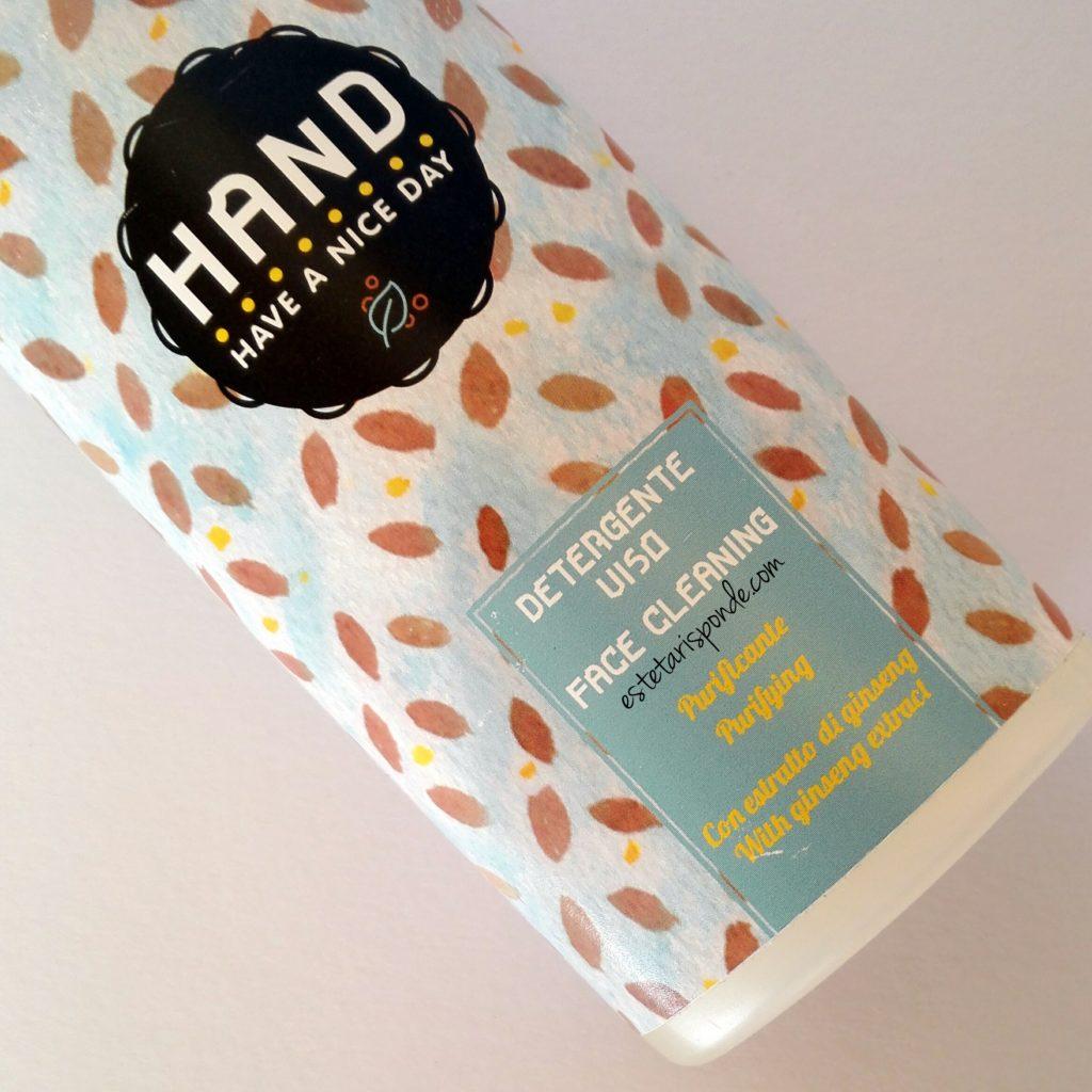 Detergente HAND viso con avena